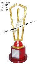 Metal Cricket Trophy