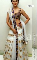 Sudarshan Silks Bollywood Collections White Net