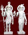 Marble God Statue- Shiva Pravati