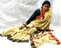 Designer Handloom Pure Khadi Jaquared Pallu with Designer Blouse Piece famous for their exquisite de