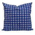 Chokdi Blue Printed Cushion Cover