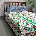 Cotton Fabric Suzani TWIN THROW Bedspread