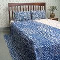 Throw Multicolor TWIN SIZE patchwork quilted Kantha