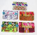 Tribal Hand Embroidered clutch bag