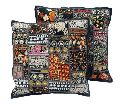 Tribal Patchwork Cushion Cover