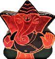 Leather Money Bank Coin Box Great Ganesha