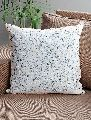 Kantha Cushion Cover Hand Block Printed Cotton