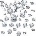 5 Carats ( 1.55 1.80mm) Calibrated HPHT Diamonds