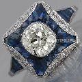 rare white moissanite 925 silver Solitaire bezel setting engagement ring