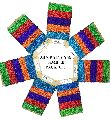Knitsilk 10 Yards Premium Recycled Sari Silk Yarn - 5 Colors Sample Card