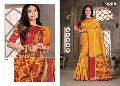 Jalpari sangam Cotton fabric Lace border work saree