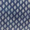 2.5 meter indigo Colorful block Printed Cotton Fabric For Suit and Dress SANGUP03