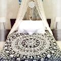 cotton Indian Handmade double size bed sheet