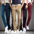 Mens Cotton Casual Pants