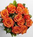 Orange Rose Flower Bouquet