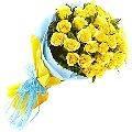 Yellow Rose Flower Bouquet