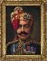 Maharaja Portrait oil Painting