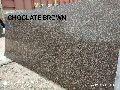Chocolate Brown Granite Slab