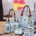 8 Piece Set Ladies Handbag