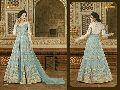 Georgette Anarkali Gown
