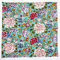 Cotton Napkin Floral Canvas Jade Hand Block Printed