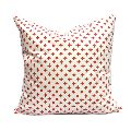 Dotty Red Pillow Cover