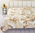 Indian Cotton Queen Traditional Quilt Kantha Bed Cover