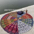 Patchwork Ethnic Mandala Wall Tapestry Bed Throw