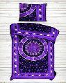 Sun astrology mandala duvet doona cover indian hippie quilt cover hippie twin ethnic blanket set