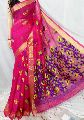 Magnificent Handloom Pure KHADI Jamdani Pallu Saree