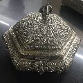 Antique Solid Silver Box