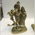 Radha Krishna Statue of Brass