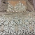 Flower Lace Fabric Embroidered African Lace Fabric