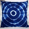 Shibori Indigo Blue Printed Cotton Duvet with Cushion Cover