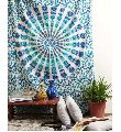 BLUE MIRCHI HOME DECOR WALL ART TAPESTRY
