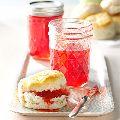 Buton strawberry glaze