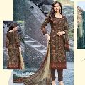 COTTON SATIN WORK SALWAR KAMEEZ