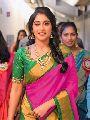 Chanderi fabric Lace border saree