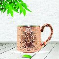 Copper Embossed Mug