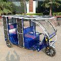 powered Electric Trike Rickshaw