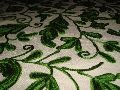 Silk Or Cotton Based Chain Stitched Curtain Fabrics