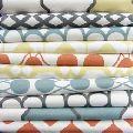 custom printed canvas fabrics for home decor
