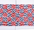 Hand Woven Loop Design Microfiber Bath Mat