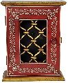 Ethnic Hand Painted Work Design Wooden Decorative Key Holder