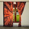 Mandala Cotton Window Door Cover Curtain