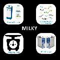 Milky Milk Dairy ERP Software