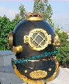 ANTIQUE BRASS SCUBA DEEP DIVING DIVERS HELMET MARK V US NAVY