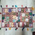 heavy patchwork cushion cover