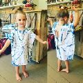 Bali Beach Hit Designer Tie Dye Kids Kaftan