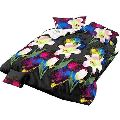 3D Floral Micro Fiber Bed Sheet